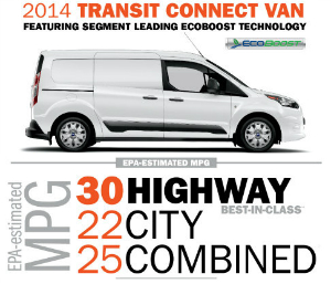 Ford Transit Connect Ecoboost Fuel Economy